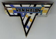 Van Halen Logo 2 Inch Enamel Tack Pin Button Eddie Alex David Lee Roth