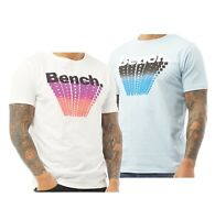 Mens Bench Printed Organic Cotton Top Short Sleeve T Shirt Sizes from S to XXL