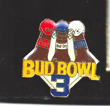 Bud Super Bowl 3 Collectible Pin
