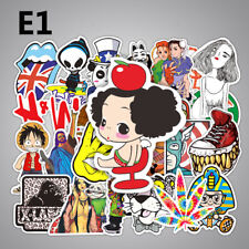 Us Seller- 50 sticker lot decals vinyl art vehicle skateboard trucks
