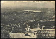 cartolina POGGIO BUSTONE valle santa reatina vista da p.b.
