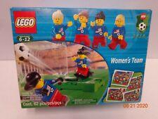 Lego 3416 Womens Soccer Team New Sealed
