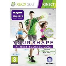 Kinect Your Shape Fitness Evolved 2012 Game (Classics) XBOX 360
