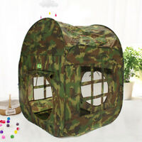 Childrens Kids PopUp Camouflage Army Play Tent Indoor Outdoor House Fun  New A
