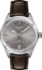 Tissot Automatic Women's Watch PR 100 Powermatic 80 Date Grey 33mm