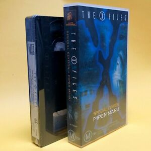 1997 SEALED The X Files - Special Edition Piper Maru VHS