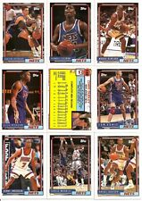1992-93 Topps New Jersey Nets Master Team Set (13)