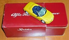 New ListingSolido Die-Cast 1:43 Scale 1995 Alfa Romeo Spider in Metal Collectors Tin New