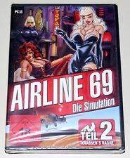 AIRLINE 69 - TEIL 2 KRASSERS RACHE - PC - EROTIK SIMULATION - NEU & OVP