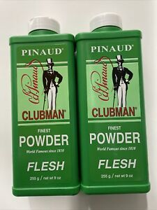 Clubman Pinaud Fine Face Talc Powder - 9oz (2pack)