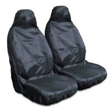 Best Heavy Duty Front Seat Covers Universal Car Van Black Waterproof Protectors