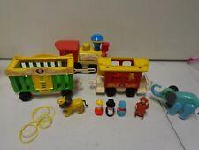 1970's Fisher Price Circus Train Set