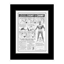 1949 Charles Atlas Muscles - Matted for 11x14 Frame
