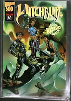 Vtg Comic Book from Estate Witchblade #500 Special Wizard Edition With COA