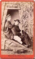 CDV photo Feines Paar - Salzbergwerk Berchtesgaden 1880er