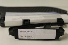 VW Golf PLUS rear rubber mats in black 5M0061511 041 New genuine VW part