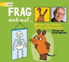 FRAG DOCH MAL...DIE MAUS! WISSEN FÜR KINDER: TIERE UND MENSCHEN   CD NEU
