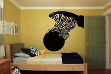 Wall Room Decor Art Vinyl Sticker Mural Decal Basketball Street Sport Fan FI398