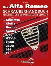 ALFA ROMEO Reparaturanleitung Handbuch Giulietta Giulia Berlina GTV 2000 2600 75