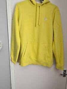 Yellow Nike Hoodie Size L