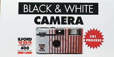 EINWEGKAMERA  ILFORD XP 2Super  Schwarz/weiß 27 Aufn.1 Kamera MHD 04/2022