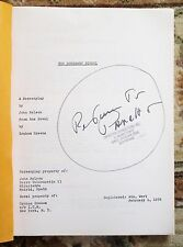 1976 Early Draft SCREENPLAY of GRAHAM GREENE Novel HONORARY CONSUL