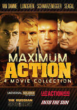 Maximum Action: 4 Movie Collection (DVD, 2015)  A Shelf