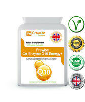 Co-Enzyme Q10 90 Cap 100mg Naturally Fermented Trans Form UK Made - Prowise