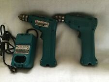 2 - MAKITA 6010D 7.2V 10mm  CORDLESS DRILL DRIVER W/ Fast Charger 7010