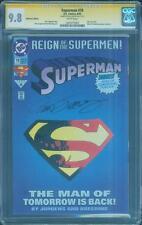 Superman 78 CGC SS 9.8 Dan Jurgens Die Cut Top 1 Man of Tomorrow Classic not 75