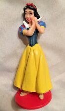 "Disney 3 1/2"" Seven Dwarfs Snow White Figurine in Yellow - Use as Cake Topper"