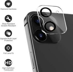 9H Camera Lens For iPhone 11 12 Pro Max Mini Case Protector Tempered Glass Cover