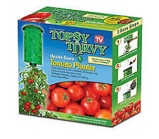 Topsy Turvey tomato planter new in box grow up to 30 lbs of tomato's ships same
