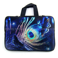 "14"" Feather Laptop Sleeve Case Bag Cover + Handle For 14"" Dell Alienware M14x PC"