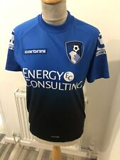 Afc bournemouth Carbrini Energy Consulting shirt Size LB Chest 34