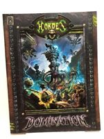 HORDES - Domination RPG Guide (2011, Privateer Press, Softcover) NEW Unread