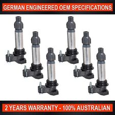 6 x Ignition Coil for Holden Commodore VE VF Crewman VZ Statesman WL WM Captiva