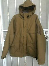 Simms  Mens  Green Hooded Jacket Size  Extra Large
