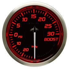DEFI 52MM RACER TURBO 30 PSI GAUGE N2 RED
