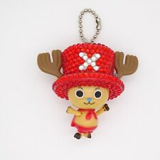 Purapura mascot Tony Tony Chopper key chain Red beads figure Anime