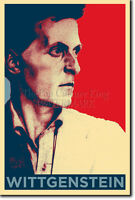 LUDWIG WITTGENSTEIN POSTER - Unique Photo Art Print Gift