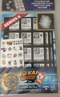 Yo-kai Watch Series 2 Yo-kai Medallium Collection Book Pages.