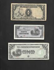 Japanese Invasion Notes 5 Centavos Paper Money//Military//Japan// WW2//WWII