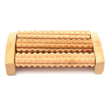 New Wooden Foot Roller Wood Care Massage Reflexology Relax Relief Massage S T1W8