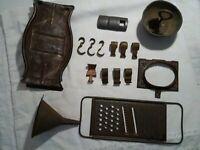 Metal VTG/Antique Primitive Kitchen/Farmhouse Tools & Hooks - Lot of 16