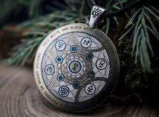 Occult Talisman * Wisdom Magic Alchemy * Magic Pendant * Transmutation Circule