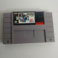 Super Nintendo SNES Madden '96 EA Sports Football Video Game Retro EUC