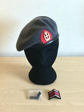 British Army-Issue QARANC Beret, Badge, TRF & Chevrons. Size 53cm.