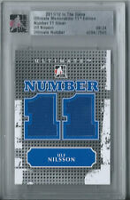 Ulf Nilsson 2011-12 In the Game Ultimate Memorabilia Number 11 Silver Jersey /24
