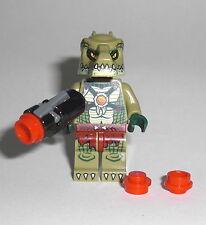 LEGO Legends of Chima - Krokodil Krieger 2 - Figur Minifig Croc Warrior 70231